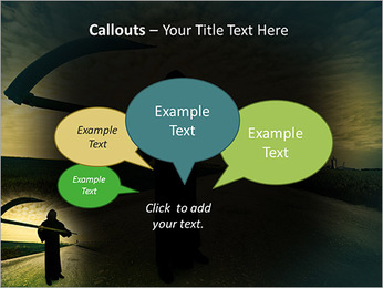 Death Image PowerPoint Template - Slide 53