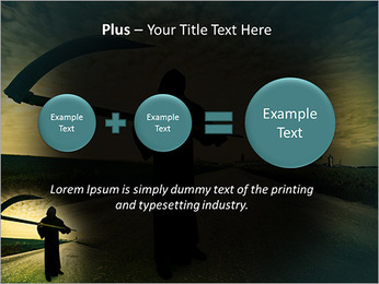Death Image PowerPoint Template - Slide 55