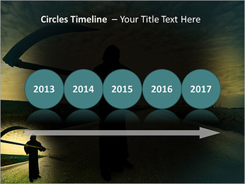 Death Image PowerPoint Template - Slide 9