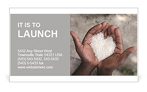 Rice Business Card Template