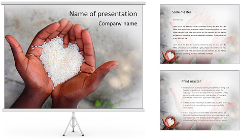 Rice PowerPoint Template