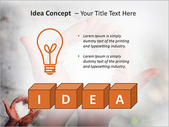 Rice PowerPoint Template - Slide 60