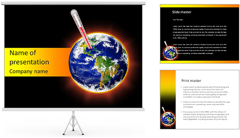 Stop Global Warming PowerPoint Template