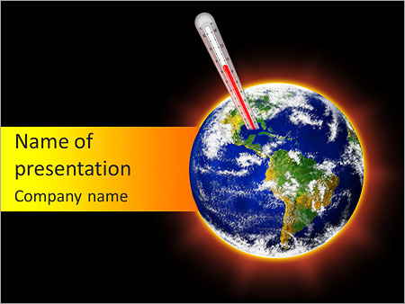 Stop Global Warming PowerPoint Templates