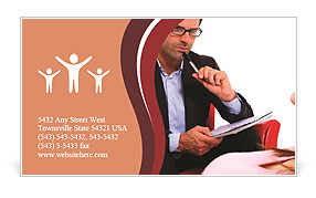 Psychologist Business Card Template