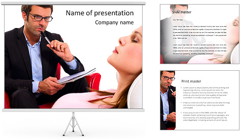 Psychologist PowerPoint Template