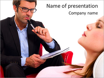 Psychologist PowerPoint Template - Slide 1