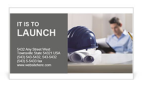 Construction Expert Business Card Templates