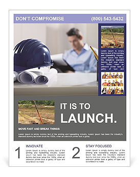 Construction Expert Flyer Templates