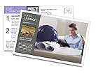 Construction Expert Postcard Template