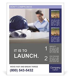 Construction Expert Poster Template