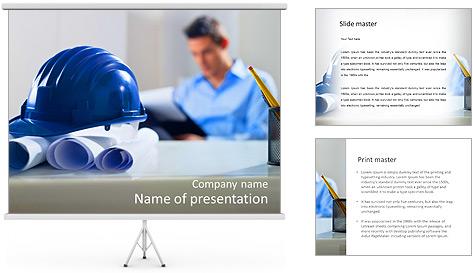 Construction Expert PowerPoint Template
