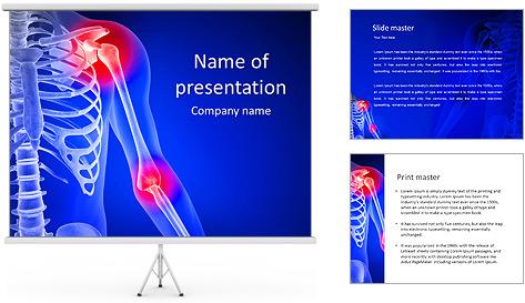 Shoulder Pain PowerPoint Template