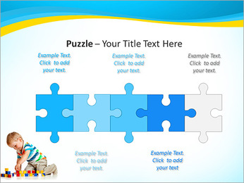Boy Plays Lego PowerPoint Template - Slide 21