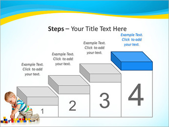 Boy Plays Lego PowerPoint Template - Slide 44