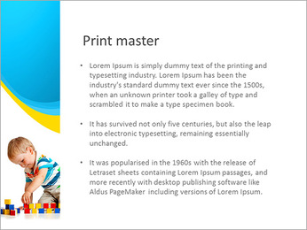Boy Plays Lego PowerPoint Template - Slide 76