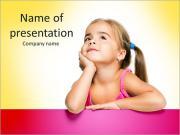 Cute Girl PowerPoint Templates