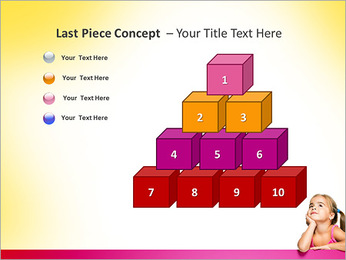 Cute Girl PowerPoint Template - Slide 11