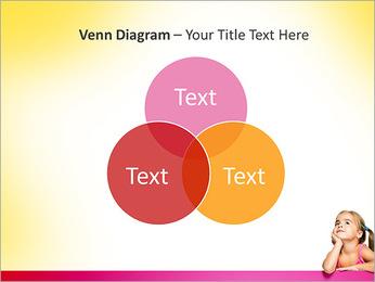 Cute Girl PowerPoint Templates - Slide 13
