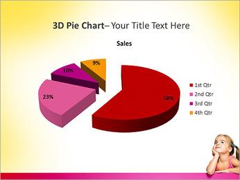Cute Girl PowerPoint Template - Slide 15