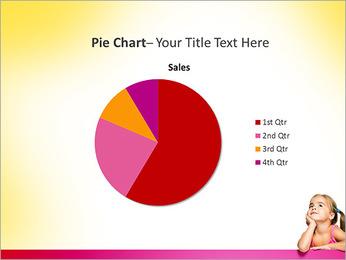 Cute Girl PowerPoint Template - Slide 16