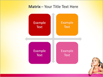 Cute Girl PowerPoint Template - Slide 17