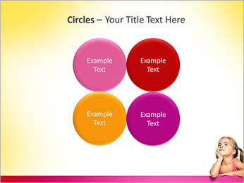 Cute Girl PowerPoint Template - Slide 18