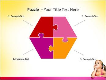 Cute Girl PowerPoint Template - Slide 20