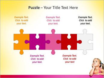 Cute Girl PowerPoint Template - Slide 21
