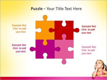Cute Girl PowerPoint Template - Slide 23