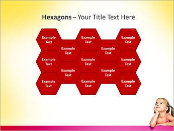 Cute Girl PowerPoint Template - Slide 24
