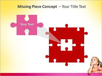 Cute Girl PowerPoint Template - Slide 25