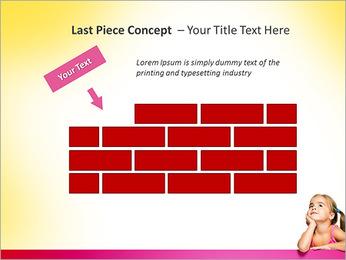 Cute Girl PowerPoint Template - Slide 26