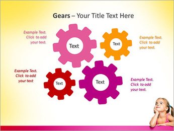 Cute Girl PowerPoint Template - Slide 27