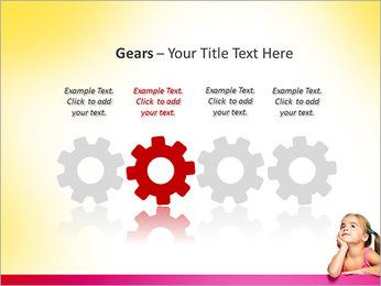 Cute Girl PowerPoint Template - Slide 28