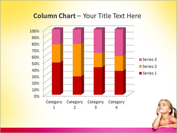 Cute Girl PowerPoint Template - Slide 30