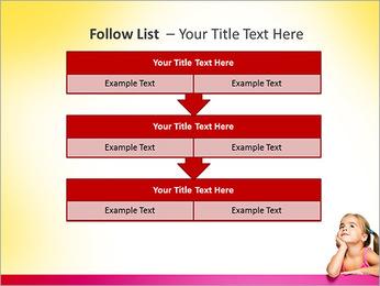 Cute Girl PowerPoint Template - Slide 40