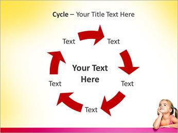 Cute Girl PowerPoint Template - Slide 42