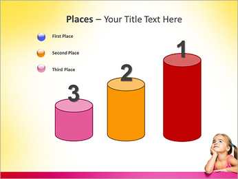 Cute Girl PowerPoint Template - Slide 45