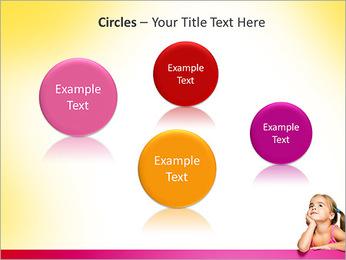 Cute Girl PowerPoint Template - Slide 57