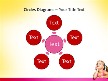 Cute Girl PowerPoint Template - Slide 58