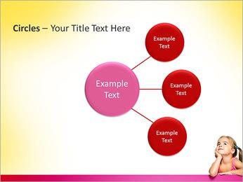 Cute Girl PowerPoint Template - Slide 59