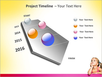 Cute Girl PowerPoint Template - Slide 6