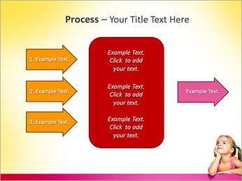 Cute Girl PowerPoint Template - Slide 65