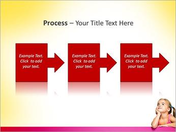 Cute Girl PowerPoint Template - Slide 68