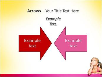 Cute Girl PowerPoint Template - Slide 70