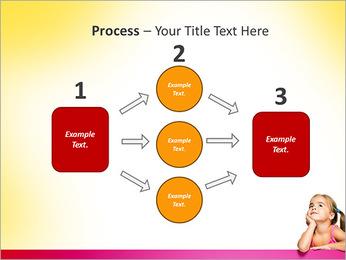 Cute Girl PowerPoint Template - Slide 72
