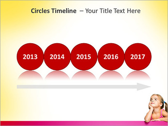 Cute Girl PowerPoint Template - Slide 9