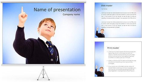Smart Boy PowerPoint Template