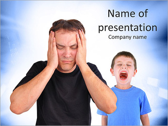 Quarrel PowerPoint Template - Slide 1